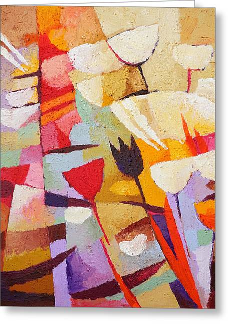 Floral Composition Greeting Card by Lutz Baar