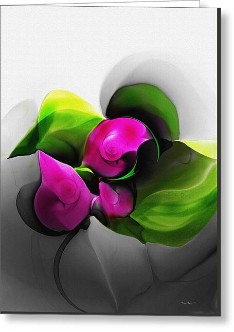 Floral Expression 111213 Greeting Card by David Lane