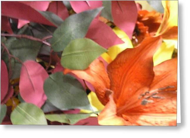 Floral Fall Greeting Card
