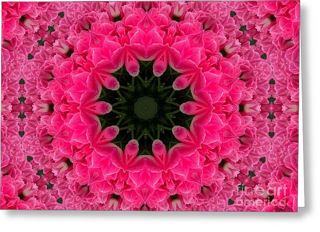 Floral Fantasy - 24 Greeting Card by Hanza Turgul