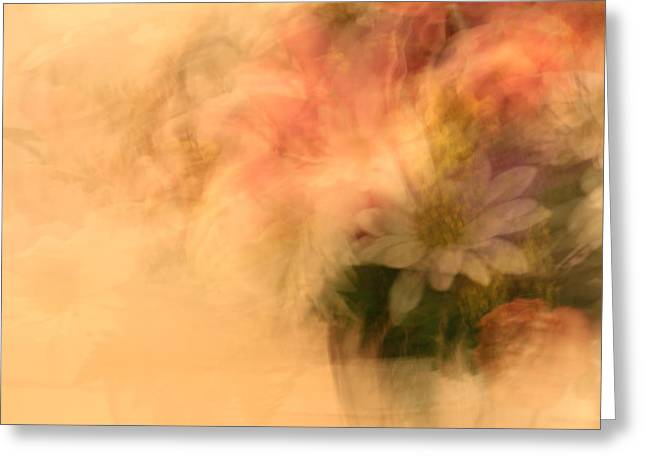 Floral Fantasy Greeting Card