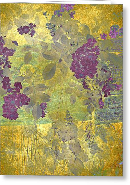 Floral Fantasy Greeting Card by Jessica Jenney