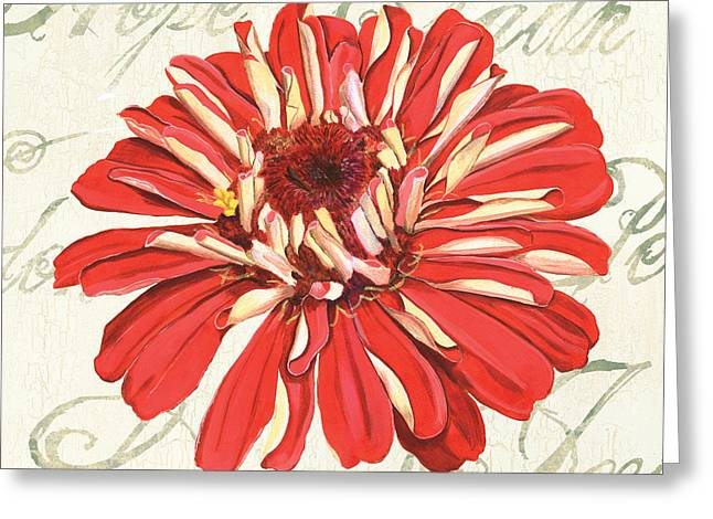 Floral Inspiration 1 Greeting Card