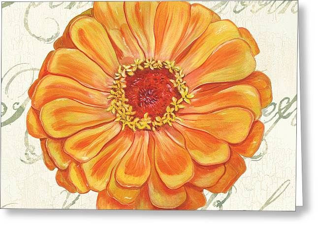 Floral Inspiration 2 Greeting Card by Debbie DeWitt
