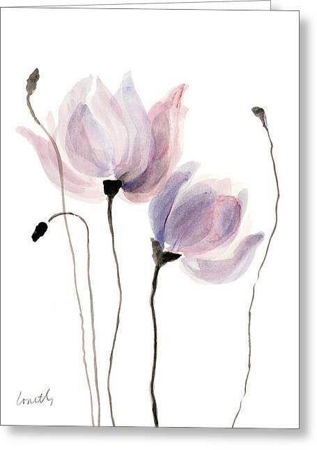 Floral Sway I Greeting Card by Lanie Loreth