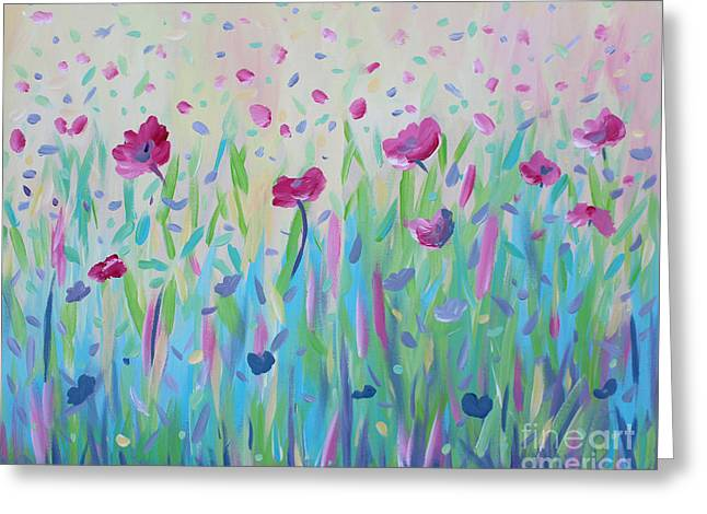 Floral Whispers Greeting Card