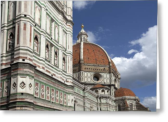 Florence Duomo Greeting Card by Al Hurley