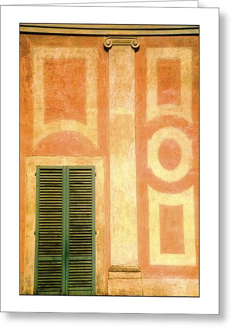 Florence Greeting Card by Nancy Robinson