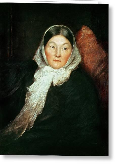 Florence Nightingale Greeting Card by Sir William Blake Richomond