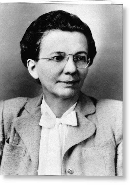 Florence Seibert Greeting Card by National Library Of Medicine