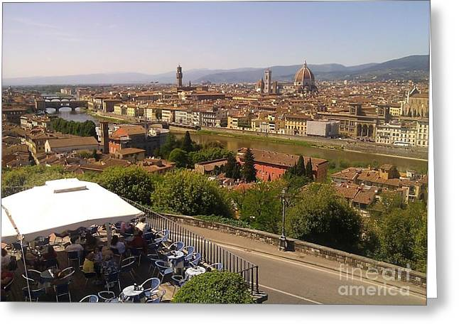 Florence Greeting Card by Ted Williams
