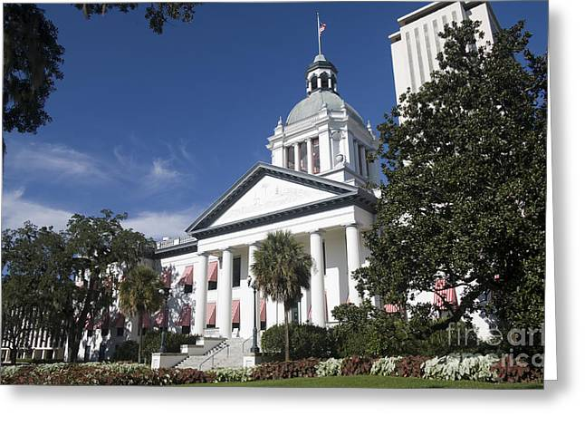 Florida Capital Building Greeting Card