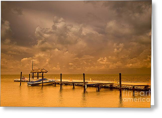 Florida Keys Greeting Card by Bruce Bain
