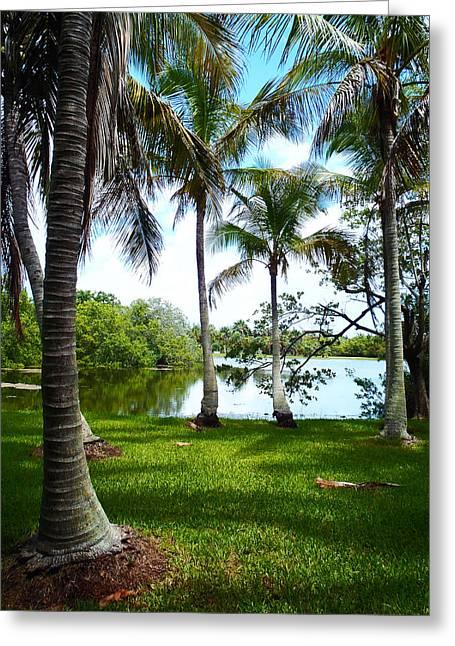 Florida Lake Greeting Card