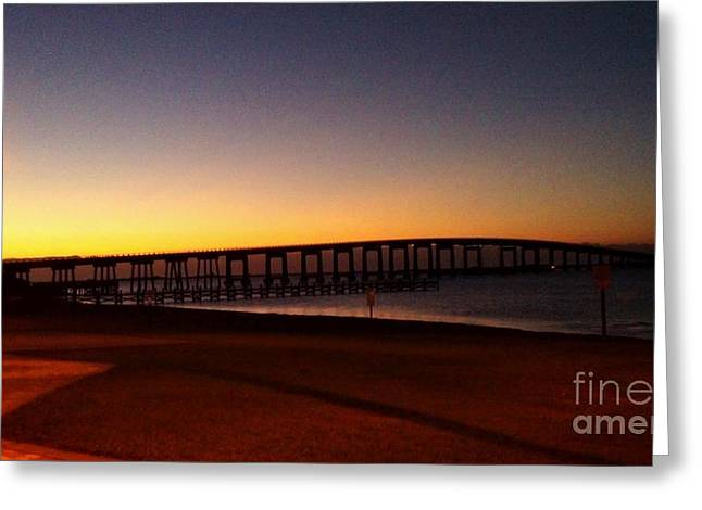 Florida Sunrise Greeting Card by Janice Spivey