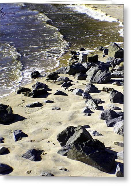 Florida Town Beach Greeting Card