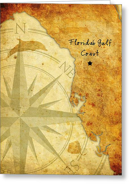 Florida's Gulf Coast Greeting Card