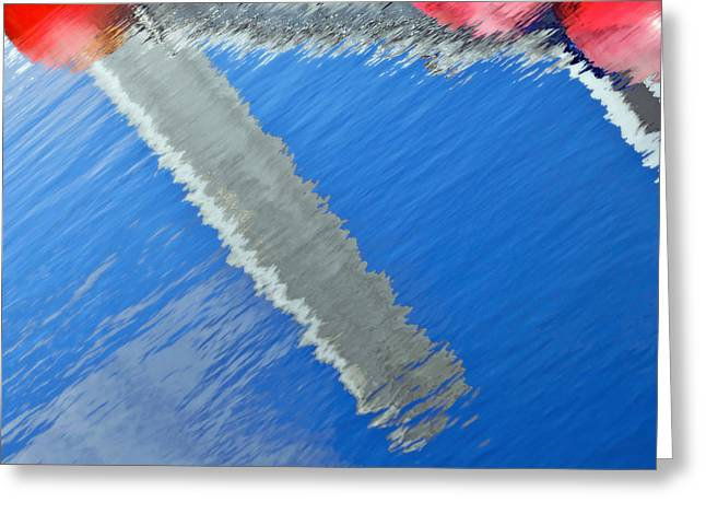 Greeting Card featuring the photograph Floridian Abstract by Keith Armstrong