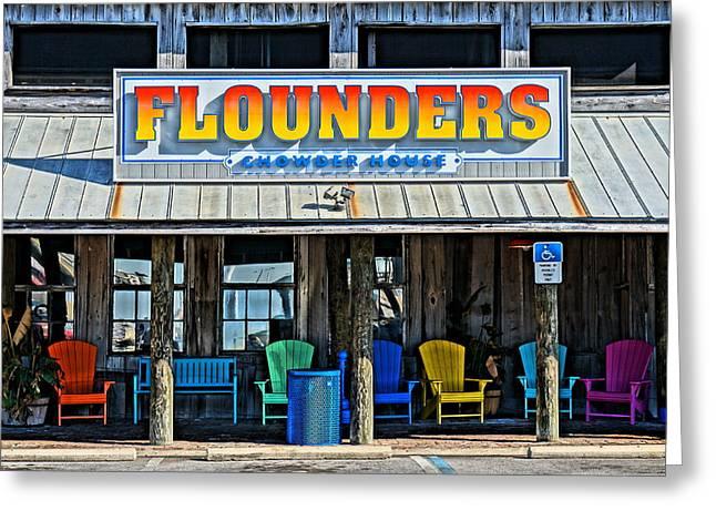 Flounders Greeting Card