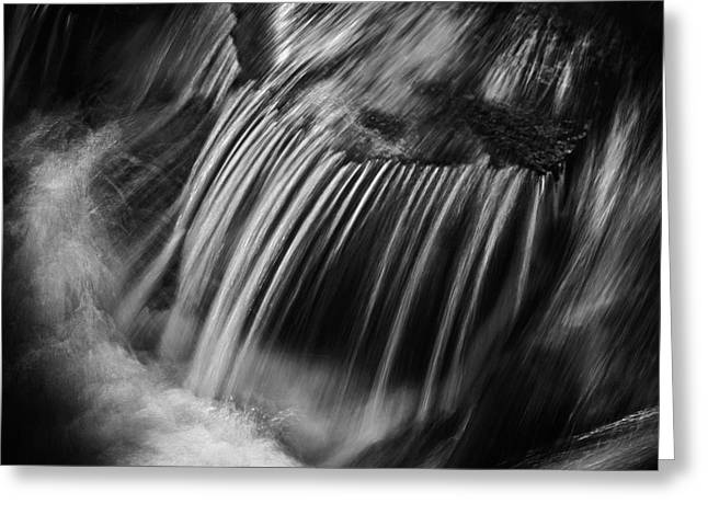 Flow Greeting Card by Rod McLean