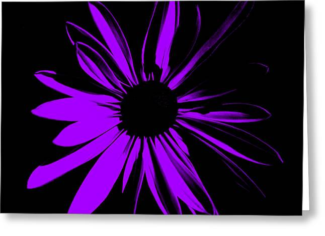Greeting Card featuring the digital art Flower 10 by Maggy Marsh