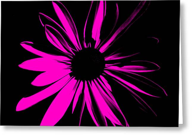 Greeting Card featuring the digital art Flower 6 by Maggy Marsh