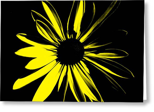 Greeting Card featuring the digital art Flower 8 by Maggy Marsh