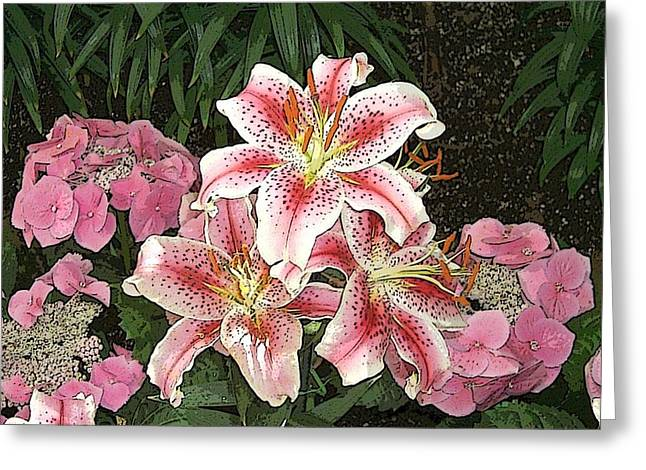 Flower Art01 Greeting Card
