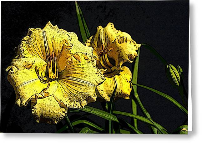 Flower Art03 Greeting Card