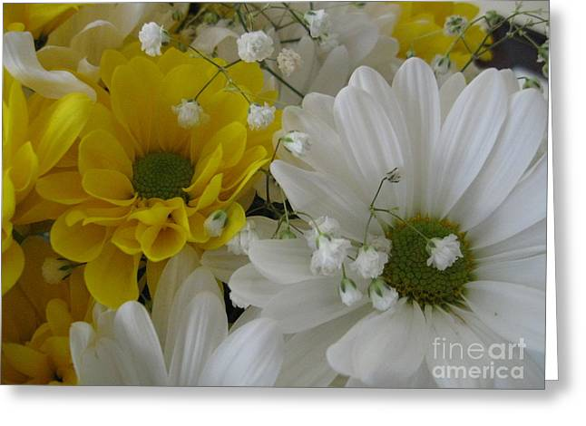 Flower Mix Greeting Card