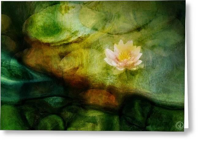 Flower Of Hope Greeting Card by Gun Legler