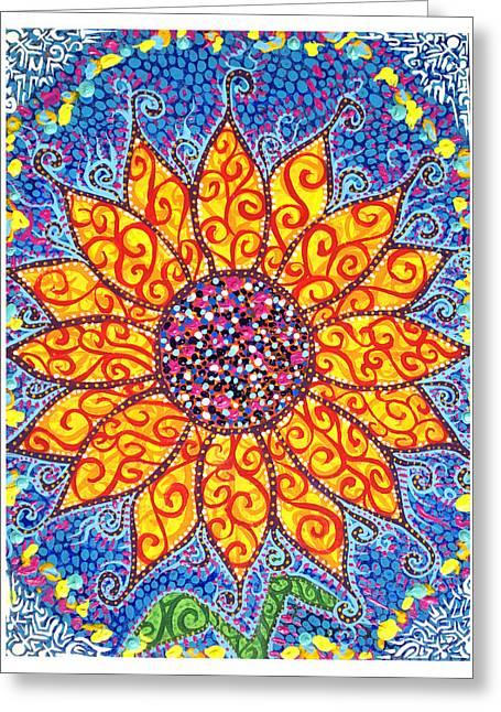 Flower Eternal  Greeting Card