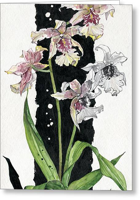 Flower Orchid 06 Elena Yakubovich Greeting Card