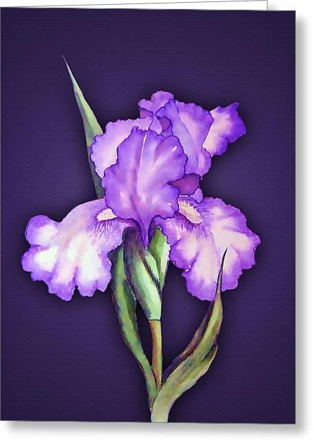 Flower Power Greeting Card by Tyler Robbins