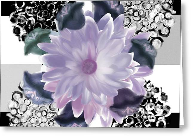Flower Spreeze Greeting Card