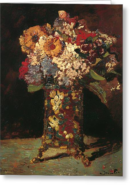 Flower Still Life Greeting Card by Mountain Dreams