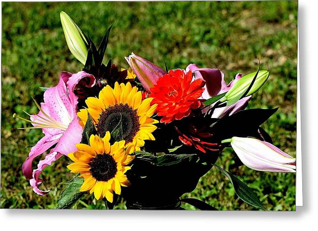 Flowers 66 Greeting Card