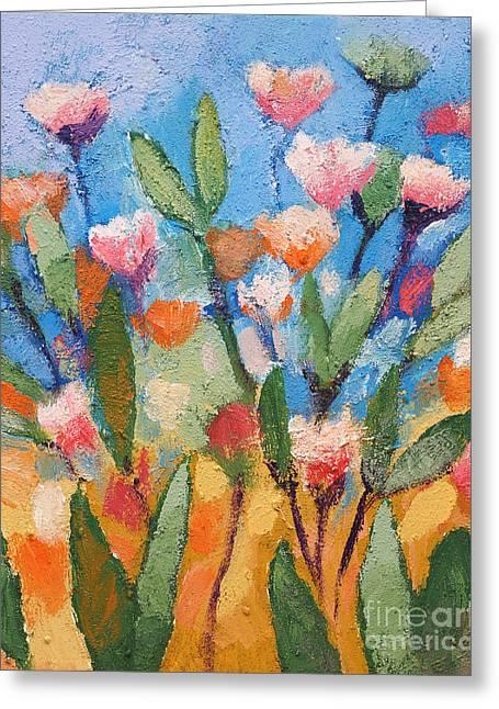 Flowers Again Greeting Card