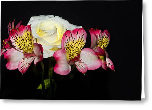 Flowers Greeting Card by Cecil Fuselier