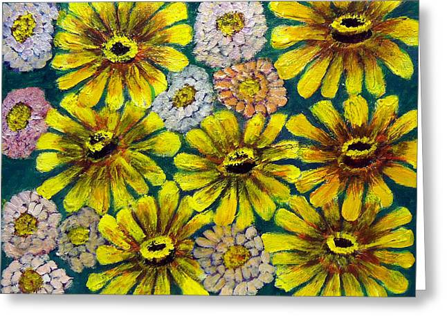 Flowers Greeting Card by Don Thibodeaux