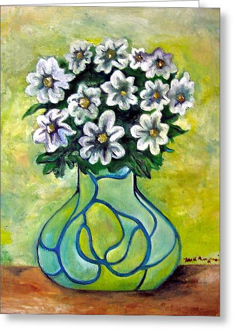Flowers For Jenny Greeting Card