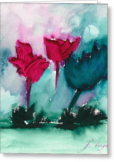 Flowers For Trees Greeting Card