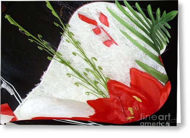 Flowers Greeting Card by Gabriele Mueller