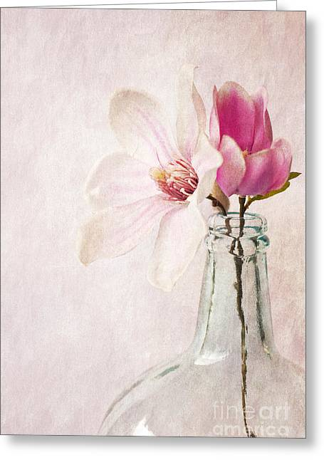 Flowers In A Bottle Greeting Card