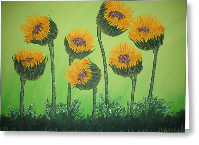 Flowers In Menopause  Greeting Card