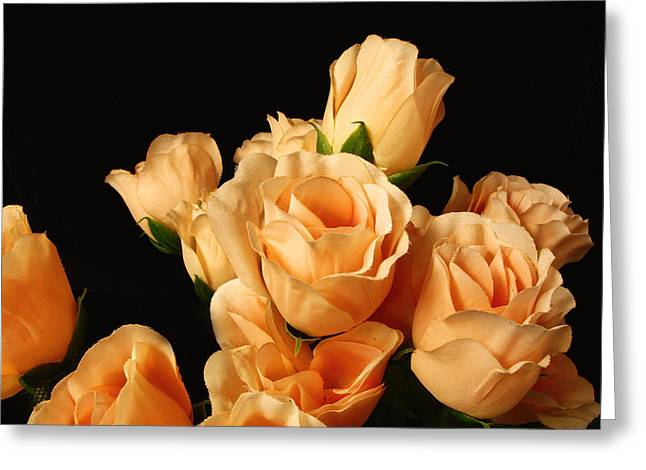 Flowers In Mourning Greeting Card