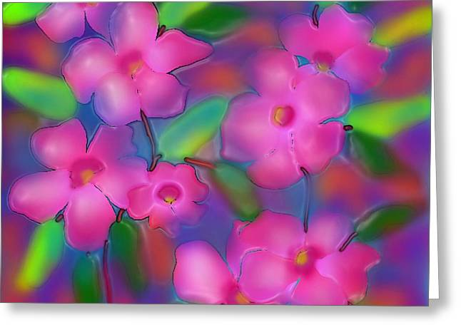 Flowers Of October Greeting Card by Latha Gokuldas Panicker