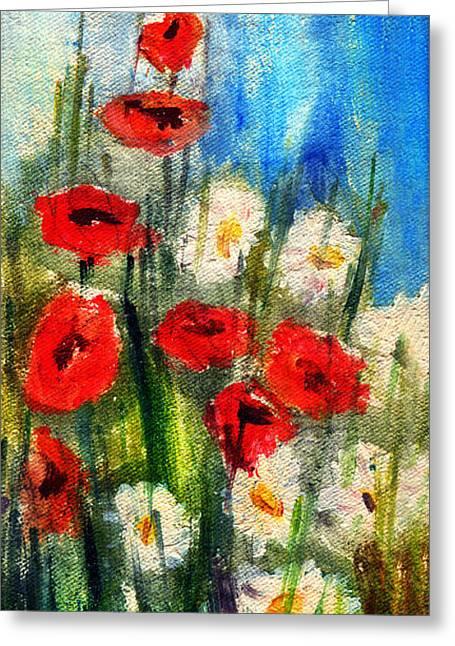 Flowers - Poppy's Flower Greeting Card