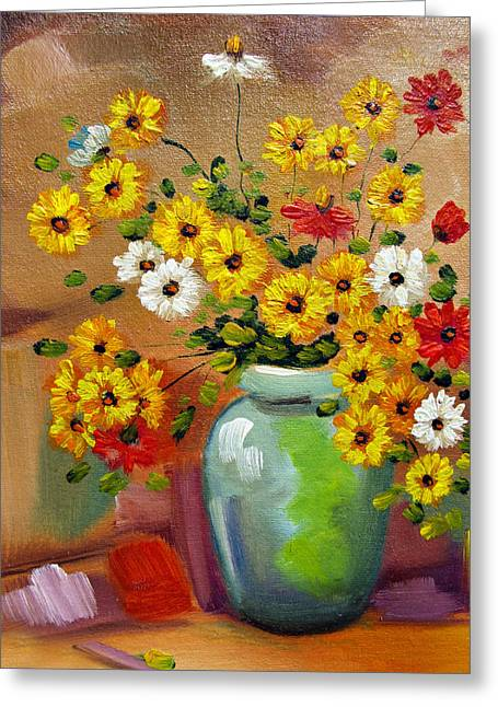 Flowers - Still Life Greeting Card