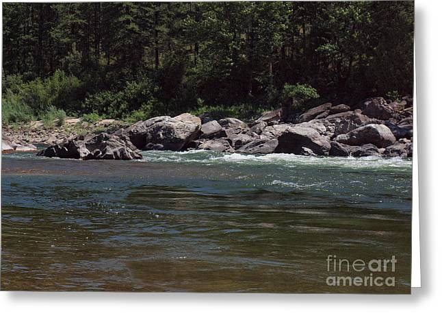 Flowing Greeting Card by Christian Jansen